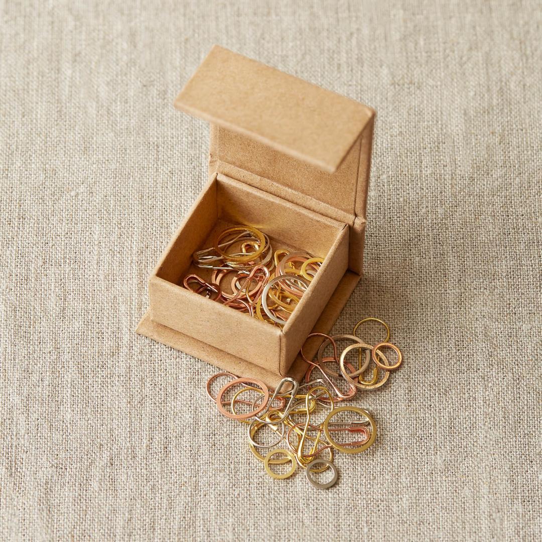 CocoKnits Precious Metal Stitch Marker  edle Metall-Maschenmarkierer