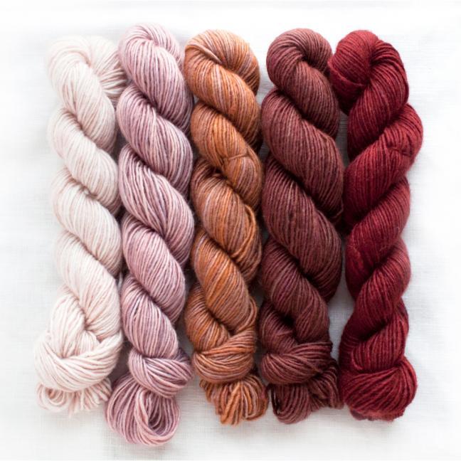 Manos del Uruguay Silk Blend Fino minis Eleanor
