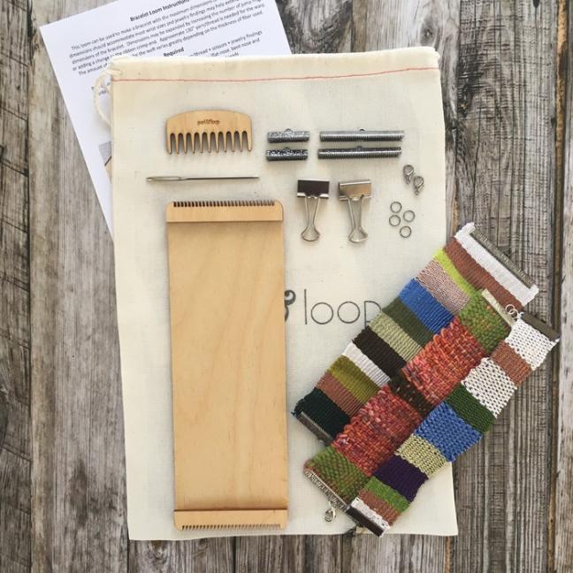 Purl & Loop Kit tissage de bracelet  10-fädige Kette