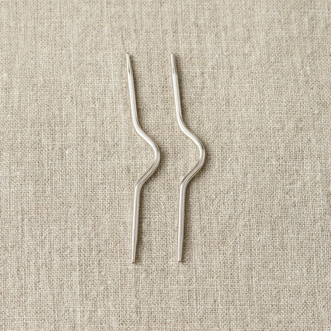 CocoKnits Aiguille à torsades  Curved Cable Needle