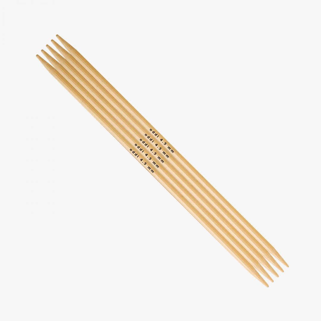 Addi Double Pointed Needles Bamboo 501-7 5mm_20 cm
