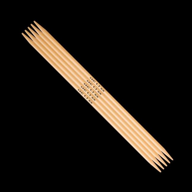 Addi Double Pointed Needles Bamboo 501-7 6mm_15cm