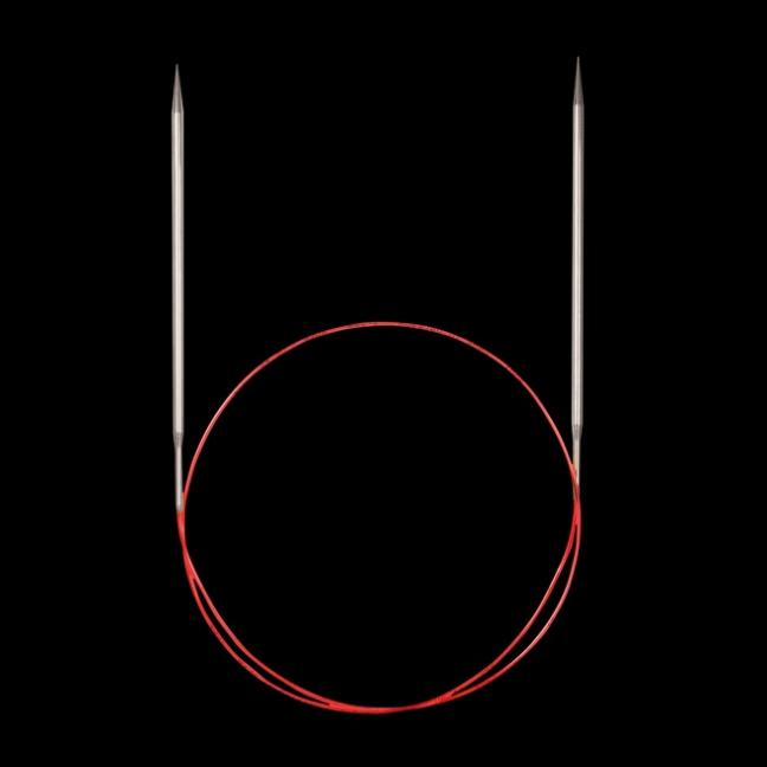 Addi Aiguilles circulaires 775-7 et 715, pointes extra longues special dentelle,  4mm_80cm