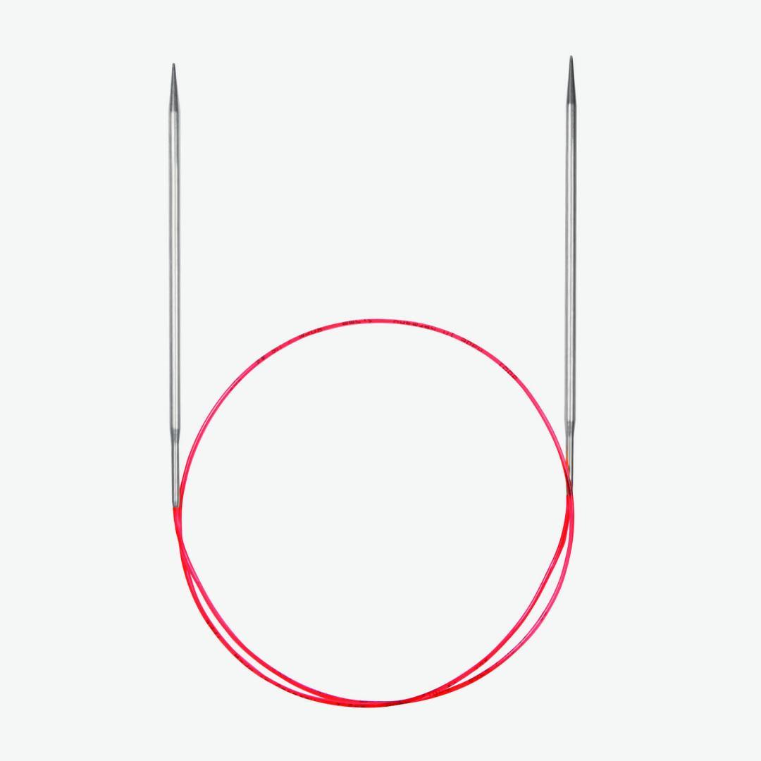 Addi Aiguilles circulaires 775-7 et 715, pointes extra longues special dentelle,  7mm_40cm
