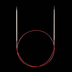Addi Aiguilles circulaires 775-7 et 715, pointes extra longues special dentelle,  7mm_60cm