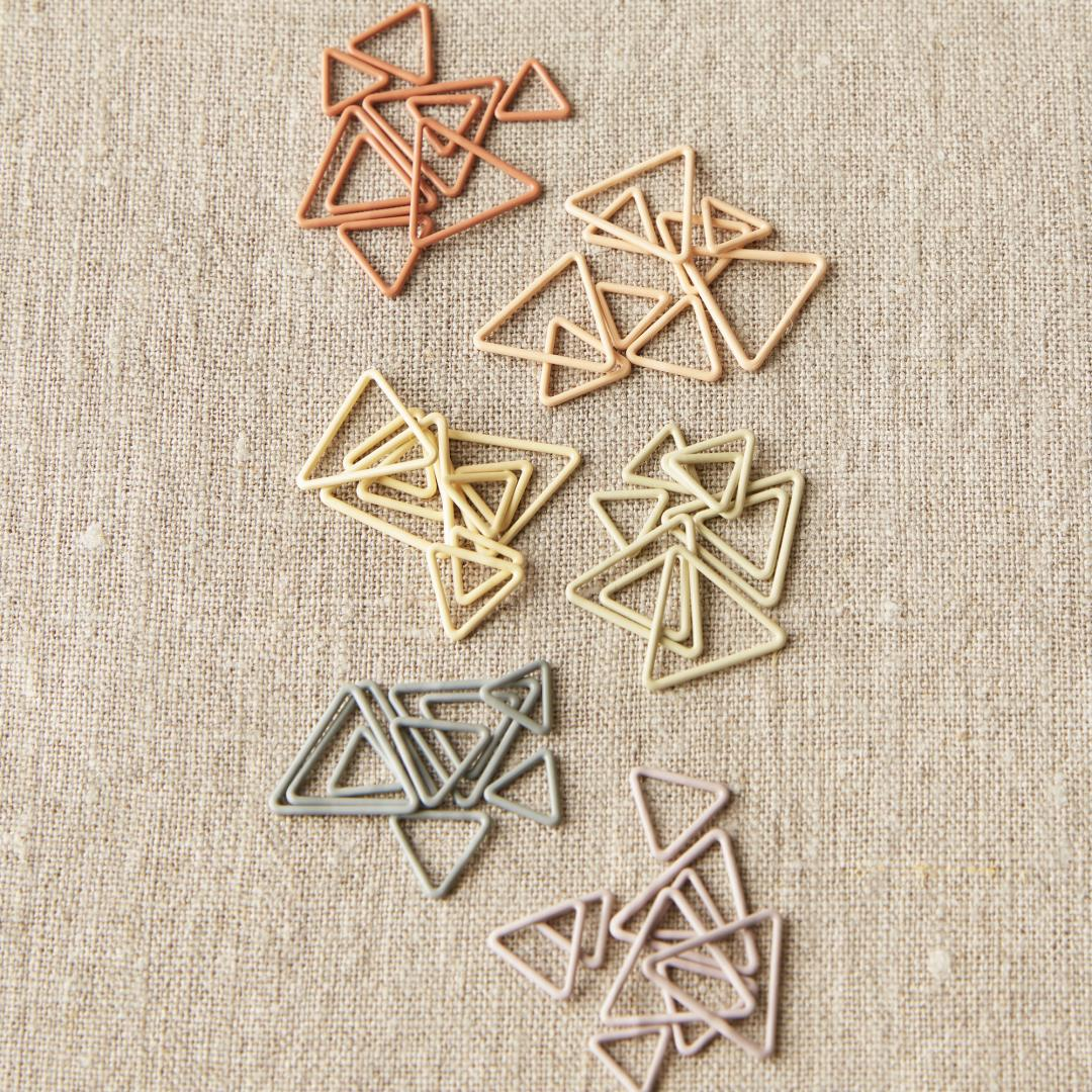 CocoKnits Anneaux marqueurs triangulaires