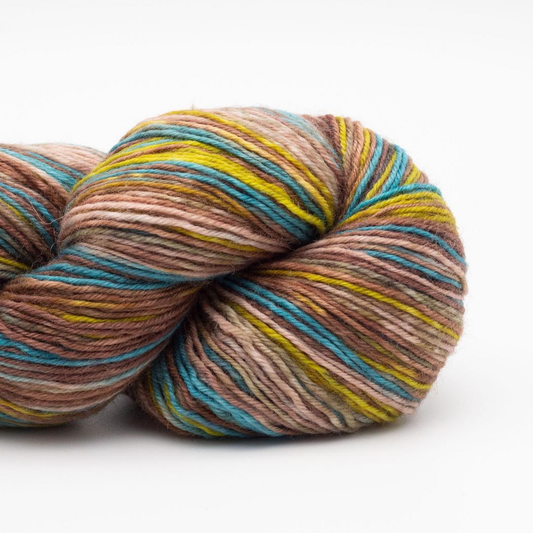 Kremke Soul Wool Lazy Lion laine à chaussettes Deep Water