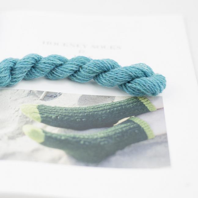 BC Garn Chaussettes Hockney Turquoise