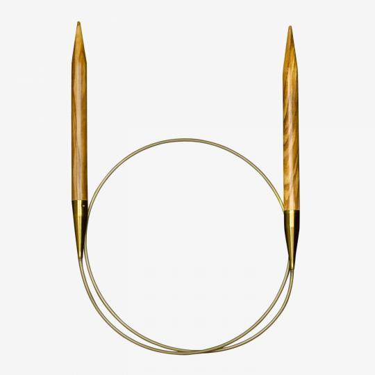 Addi Olive Tree Circular Needles 575-7  3mm_60cm