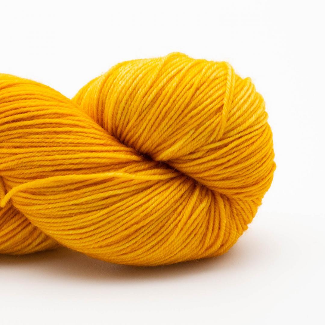 Kremke Soul Wool Lazy Lion, laine à chaussette, faux uni Gold