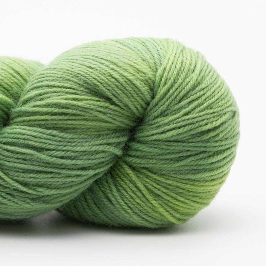 Kremke Soul Wool Lazy Lion, laine à chaussette, faux uni Summer Green