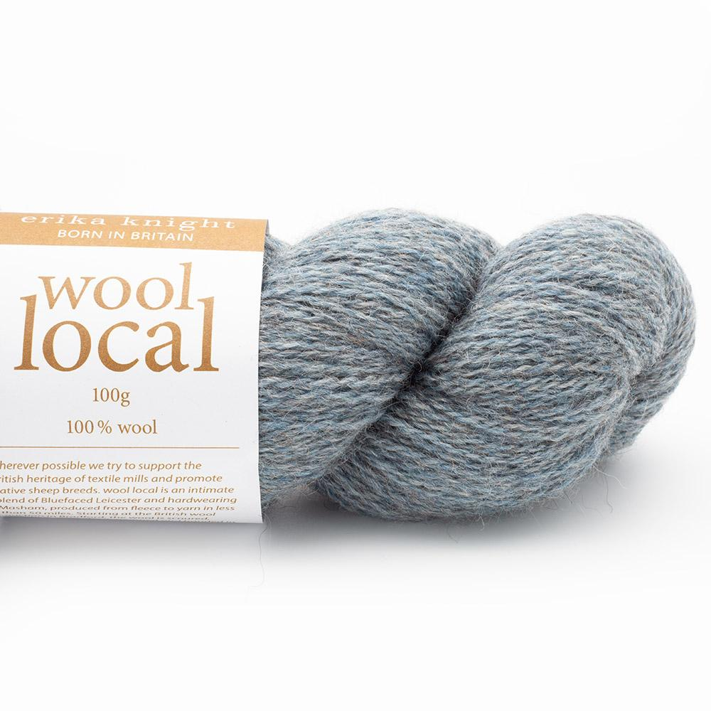 Erika Knight Wool Local  Bennett Pale Blue