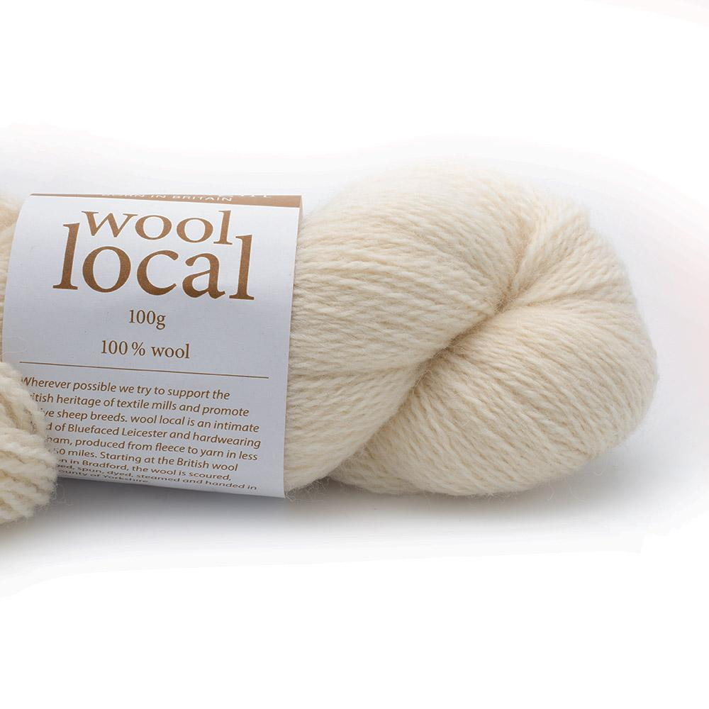 Erika Knight Wool Local Fairfax Ecru