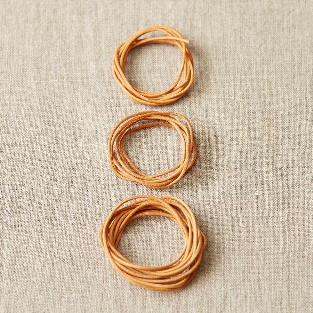 CocoKnits Assortiment de cordons en cuir