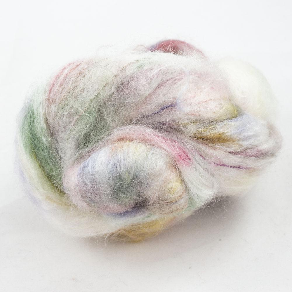 Cowgirl Blues Fluffy Mohair Gradient 100g Tambourine Man