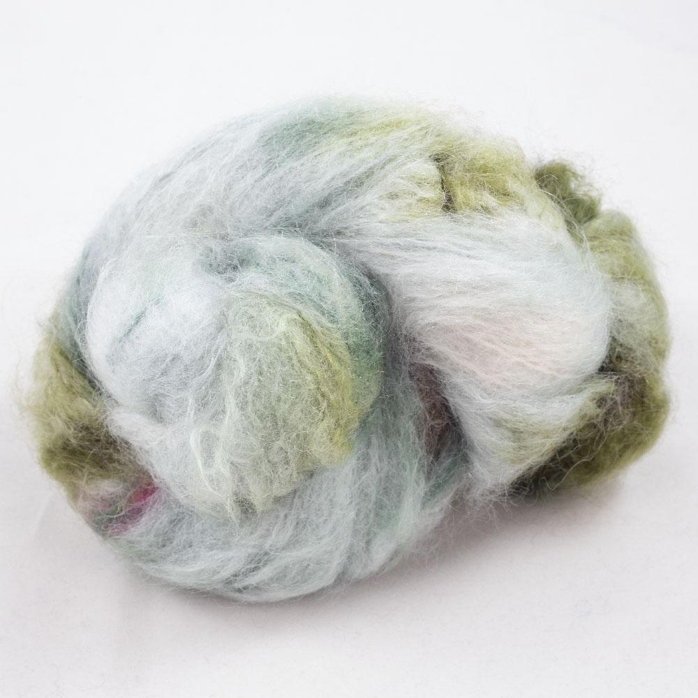Cowgirl Blues Fluffy Mohair Gradient 100g Signs of Spring