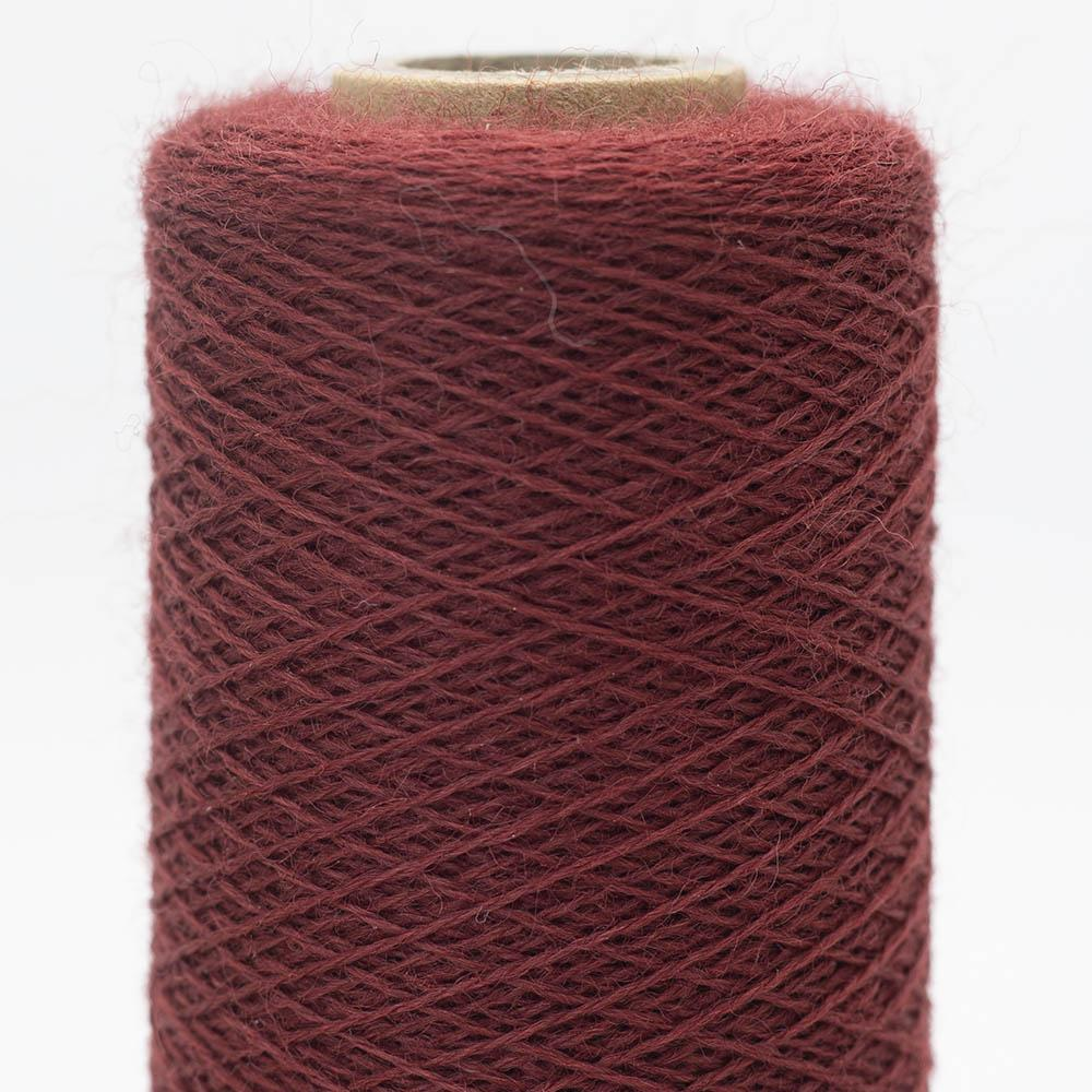 Kremke Soul Wool Merino Cobweb lace Dark Red
