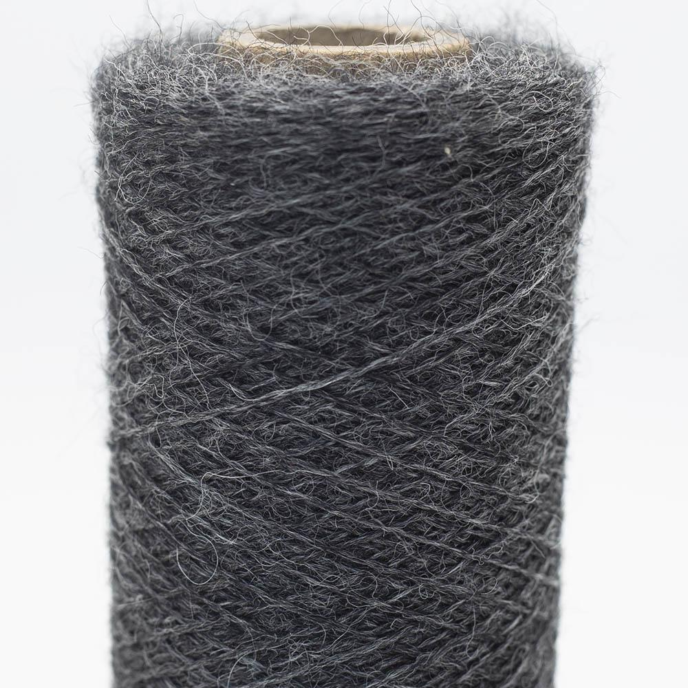 Kremke Soul Wool Merino Cobweb lace Dark Grey Heather