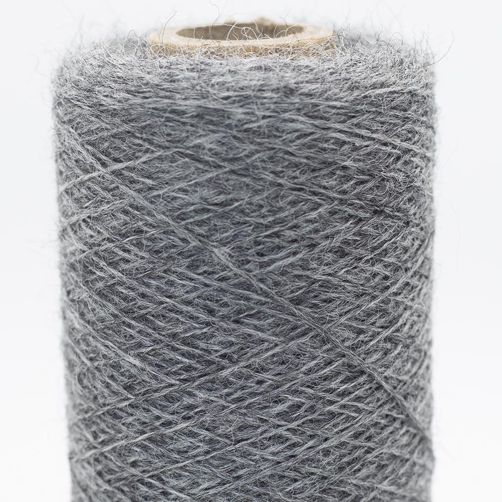 Kremke Soul Wool Merino Cobweb lace Medium Grey Heather
