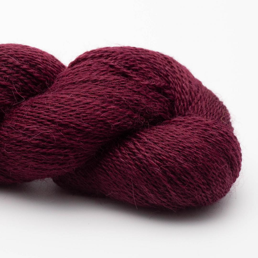 Kremke Soul Wool baby alpaga Lace Bordeaux