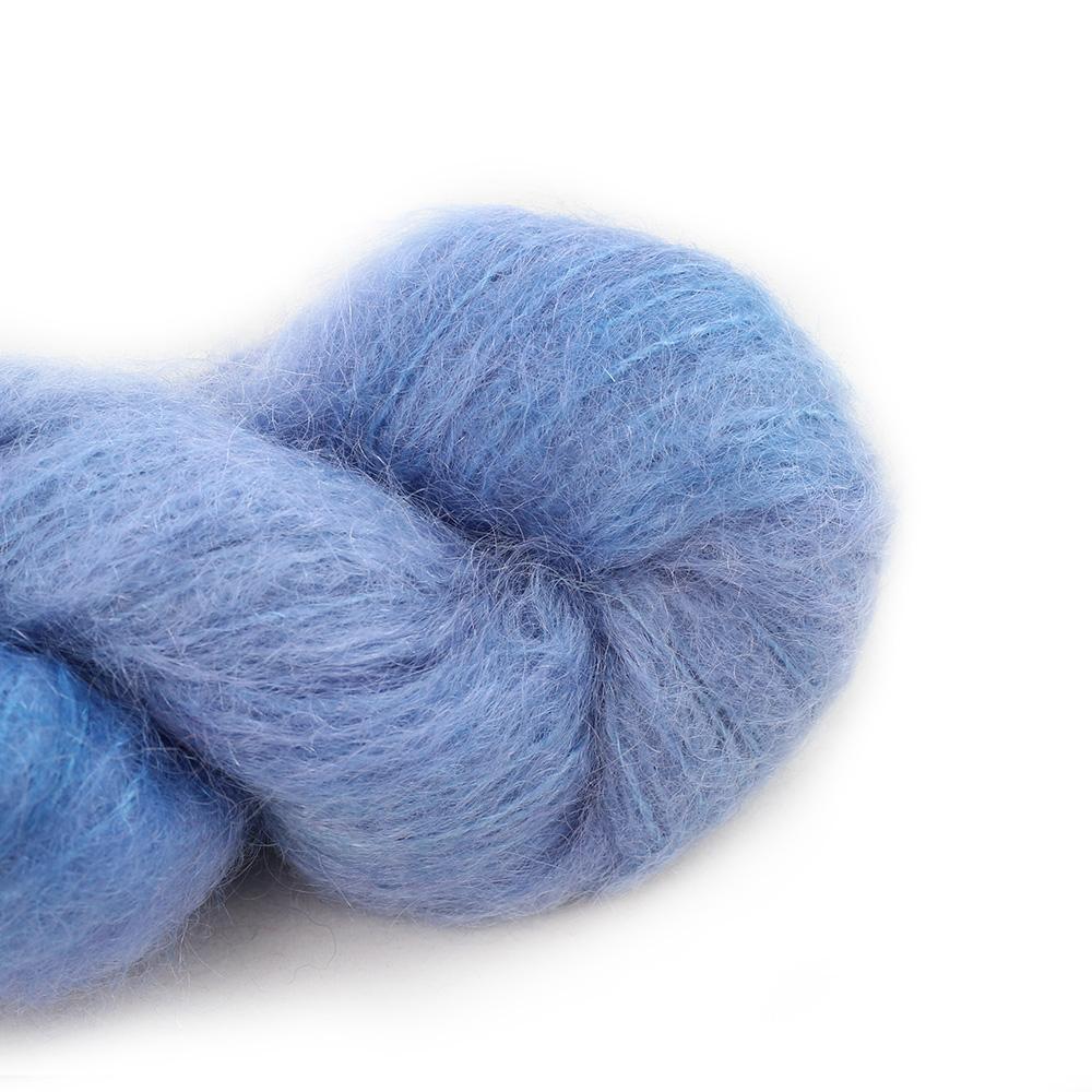 Cowgirl Blues Fluffy Mohair Unie 100g  16-Seagrass