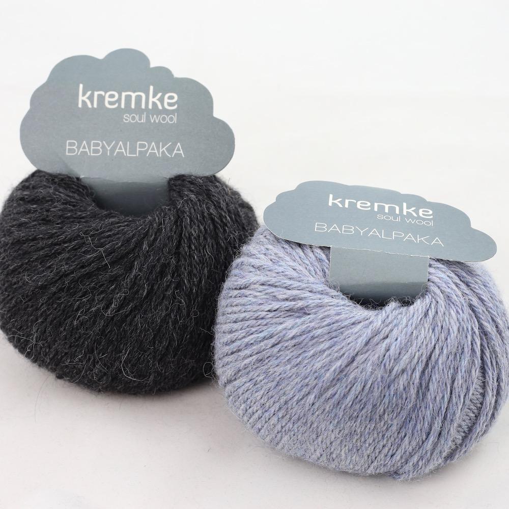 Kremke Soul Wool Baby Alpaka Jeans Anthrazit