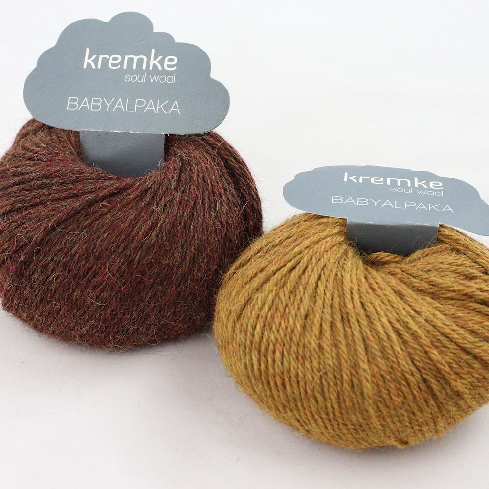 Kremke Soul Wool Baby Alpaka Kastanie