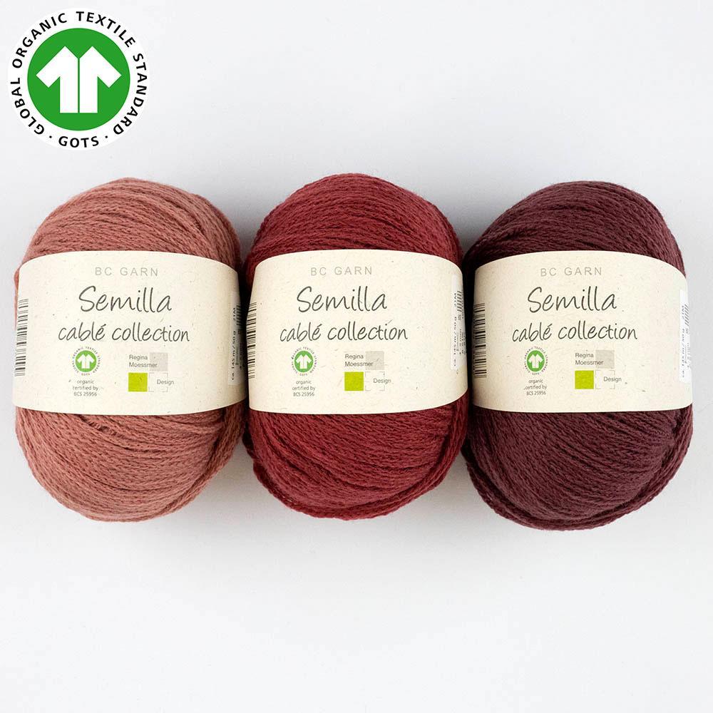 BC Garn Semilla cablé GOTS  Sandshell
