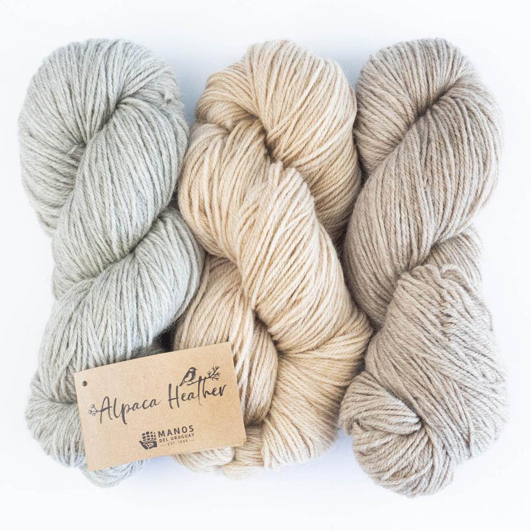 Manos del Uruguay Alpaca heather Naturel
