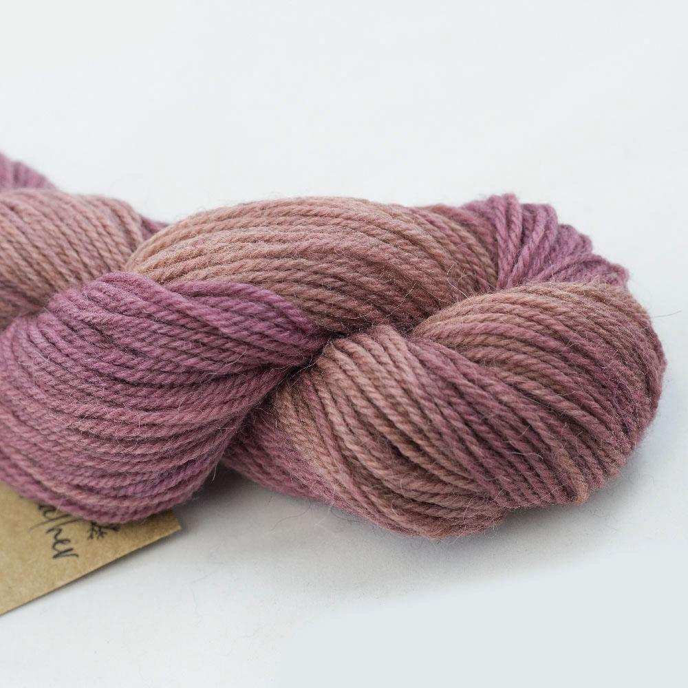 Manos del Uruguay Alpaca heather Gradient Goji Berry