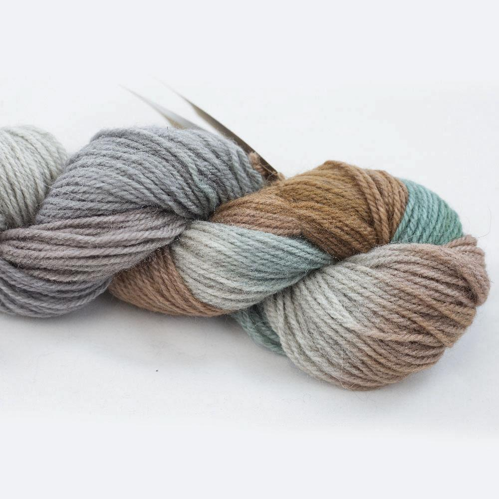 Manos del Uruguay Alpaca heather Gradient Cottage