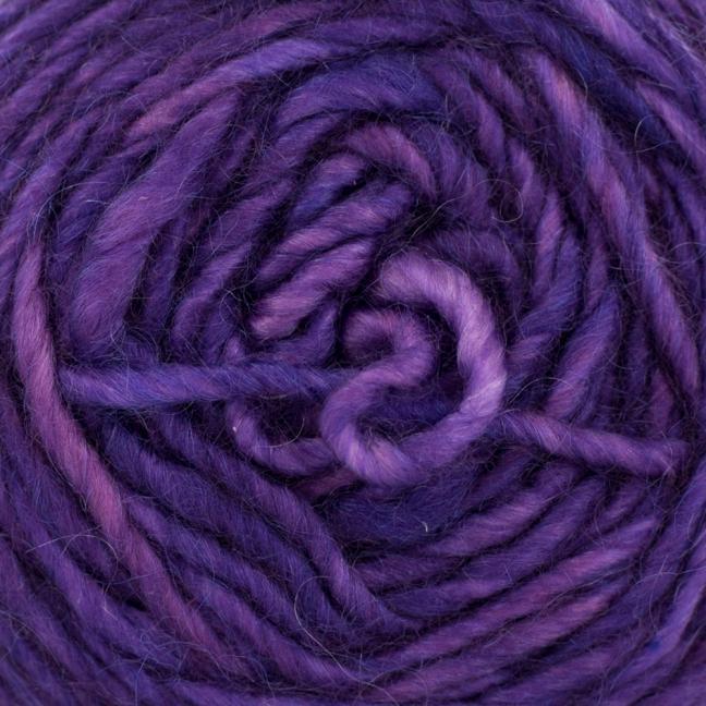 Cowgirl Blues Aran single uni (100g) Violet