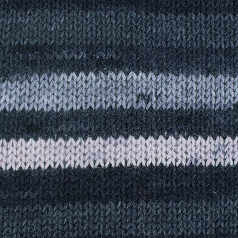 Kremke Soul Wool Edelweiss 50 Grey stripes
