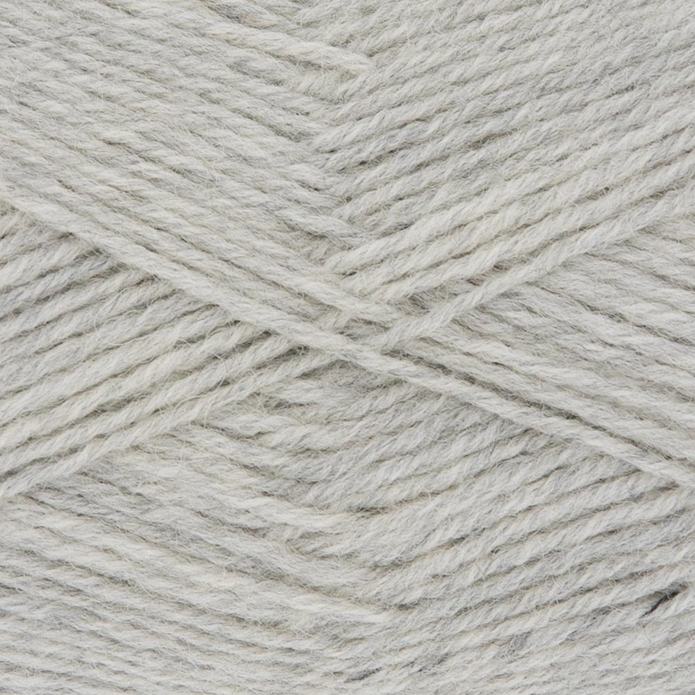Kremke Soul Wool Edelweiss 50 Light grey solid