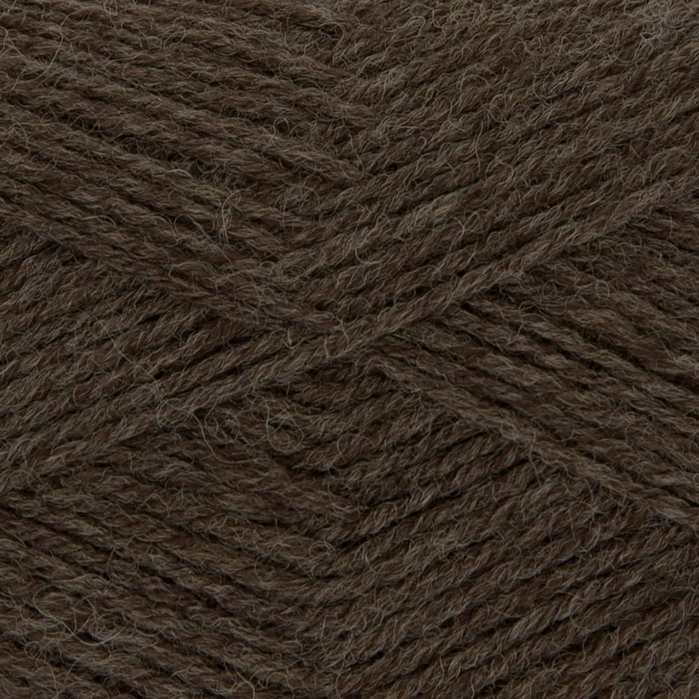 Kremke Soul Wool Edelweiss 50 Brown solid