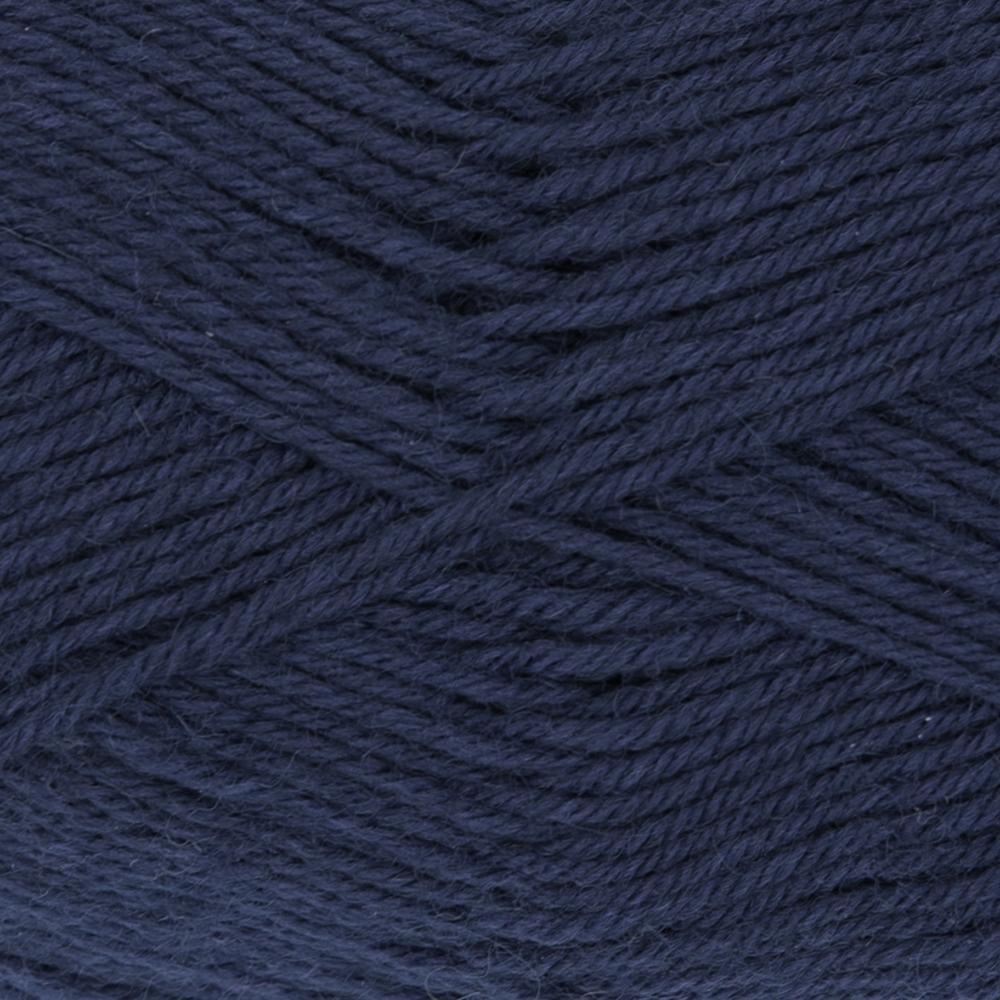 Kremke Soul Wool Edelweiss 50 Navy solid
