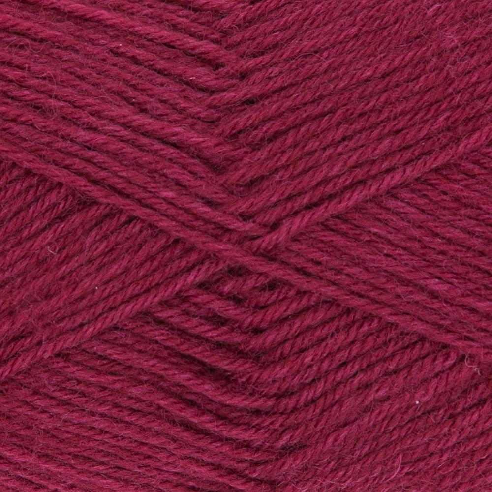 Kremke Soul Wool Edelweiss 50 Dark red solid