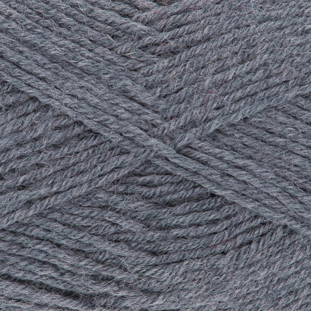 Kremke Soul Wool Edelweiss 50 Silver grey solid