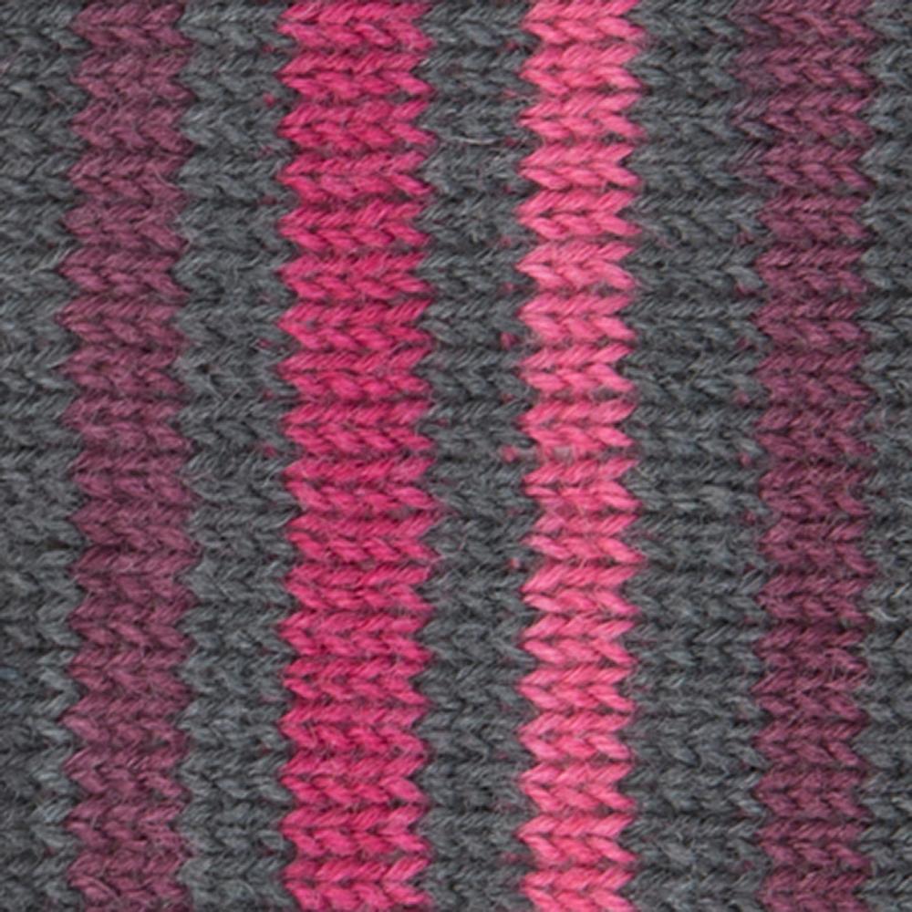Kremke Soul Wool Edelweiss 4ply 100 Pink Brown striped