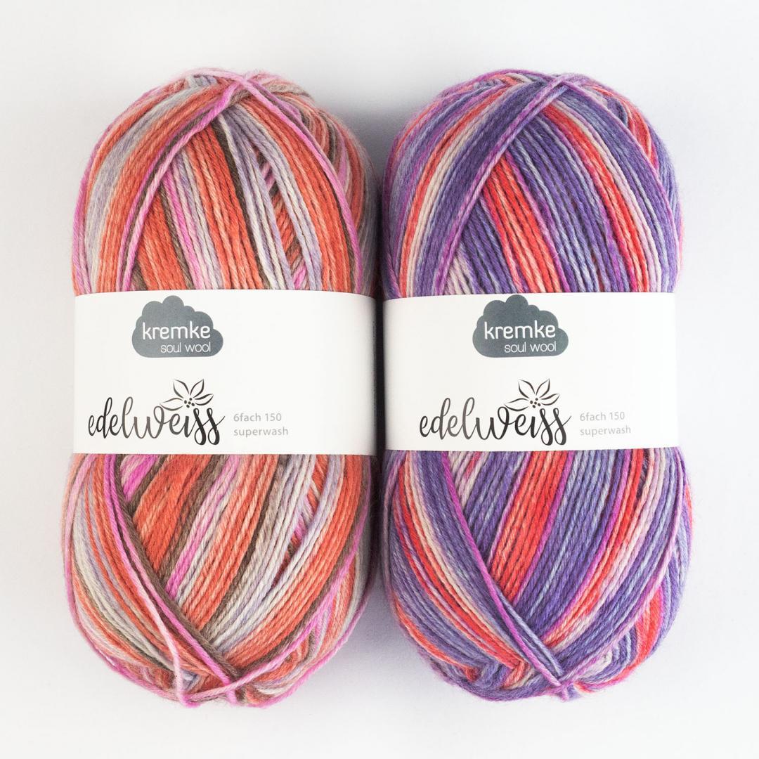 Kremke Soul Wool Edelweiss 6ply 150