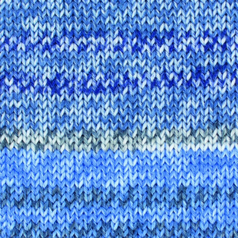 Kremke Soul Wool Edelweiss Cashmere 50 Blue colorful
