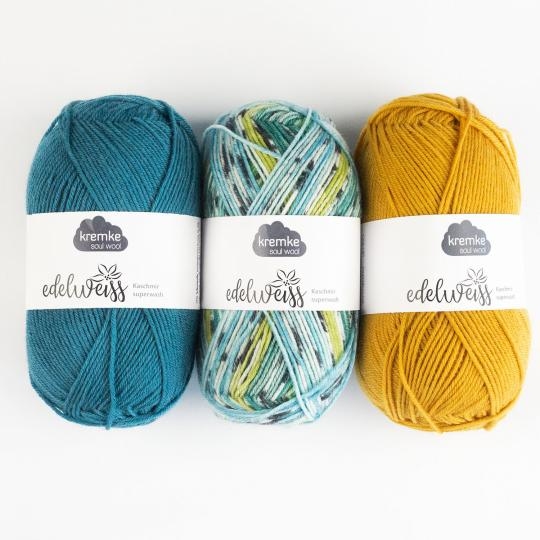 Kremke Soul Wool Edelweiss Cachemire 50