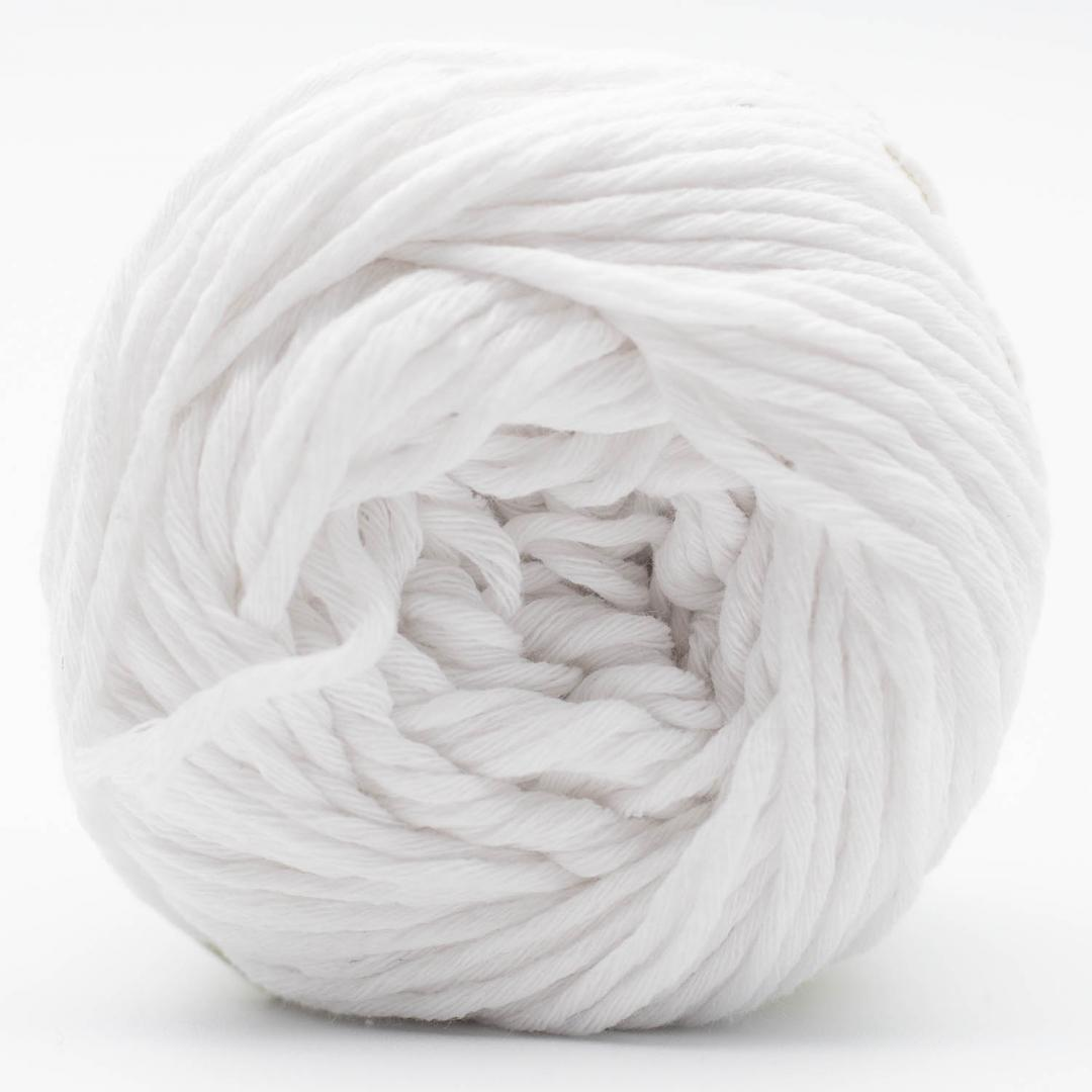 Kremke Soul Wool Karma Cotton, coton recyclé White