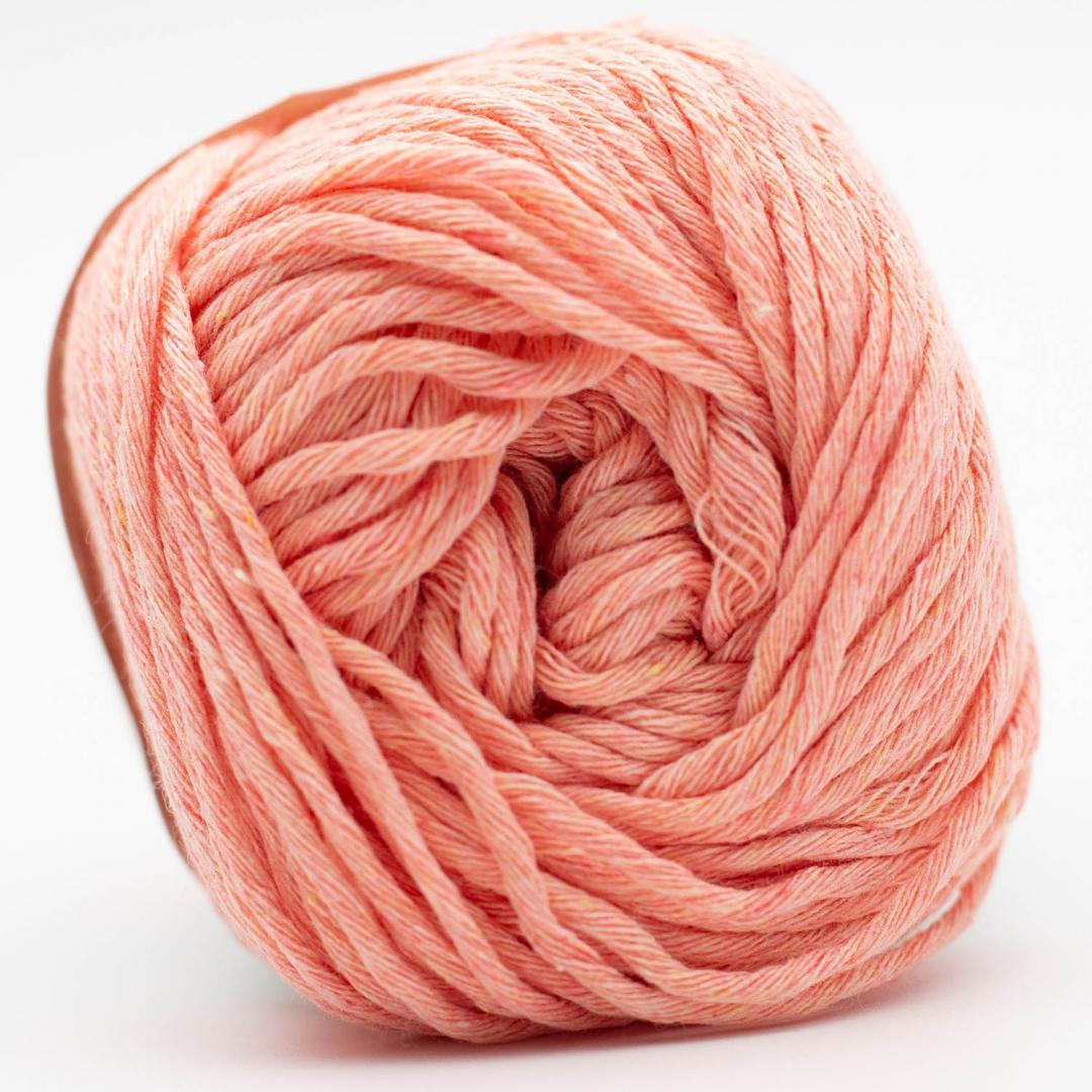 Kremke Soul Wool Karma Cotton, coton recyclé Salmon
