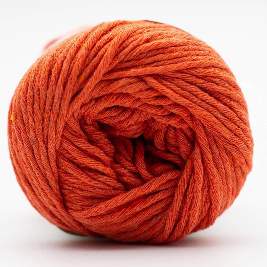 Kremke Soul Wool Karma Cotton, coton recyclé Orange