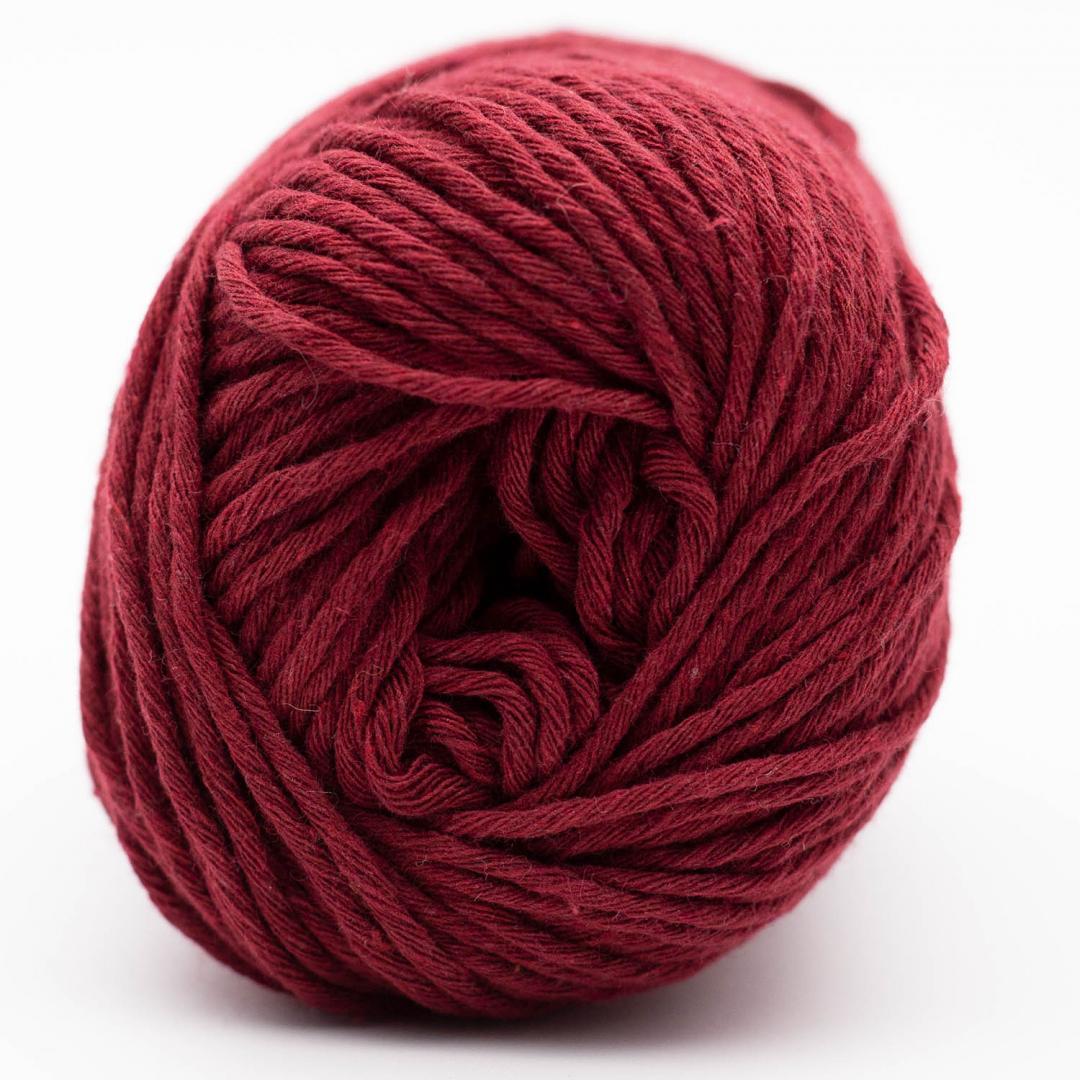 Kremke Soul Wool Karma Cotton, coton recyclé Bordeaux
