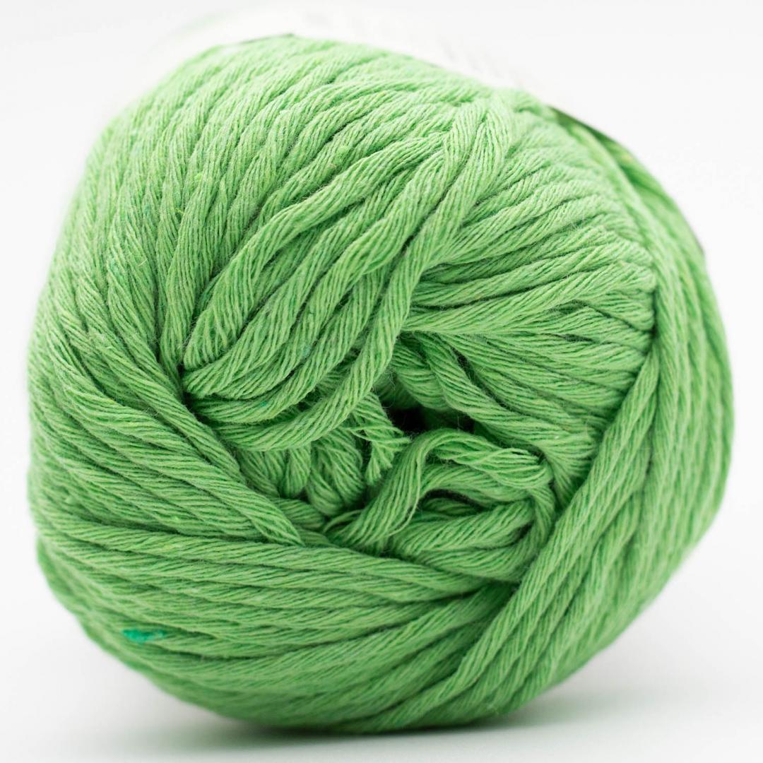 Kremke Soul Wool Karma Cotton, coton recyclé Lime