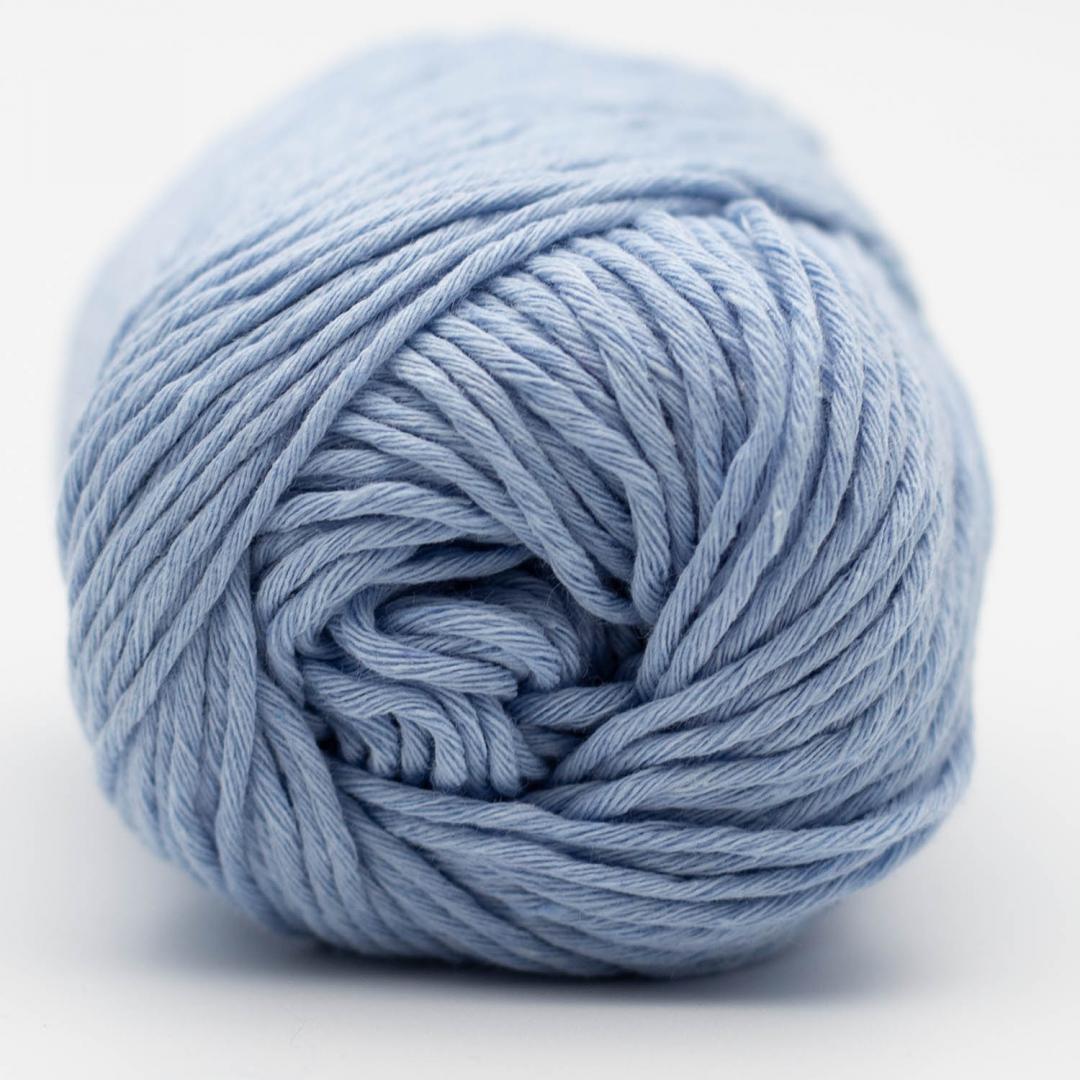 Kremke Soul Wool Karma Cotton, coton recyclé Baby Blue