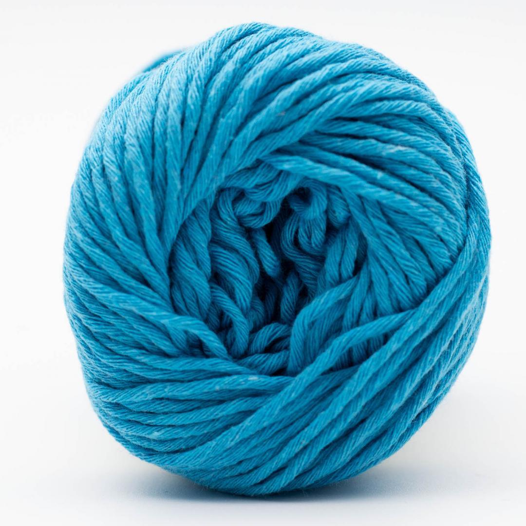 Kremke Soul Wool Karma Cotton, coton recyclé Aquamarine