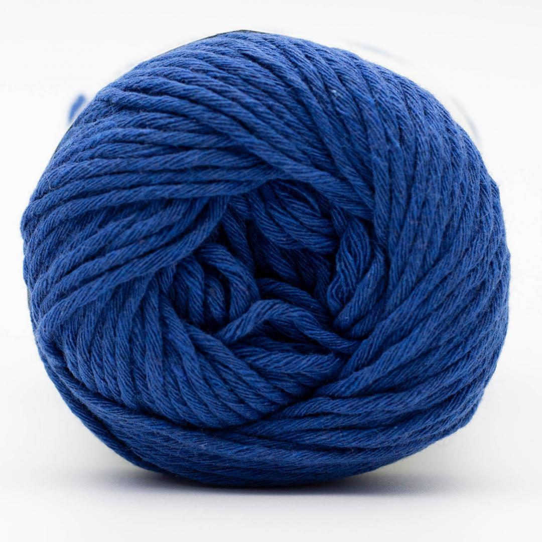 Kremke Soul Wool Karma Cotton, coton recyclé Royal Blue